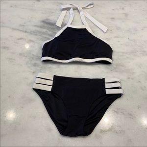 NWOT Seafolly Australia black bikini
